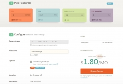 wordpress搭建和初步优化:购买服务器