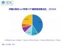 2021年中国IDC市场份额最新排行榜